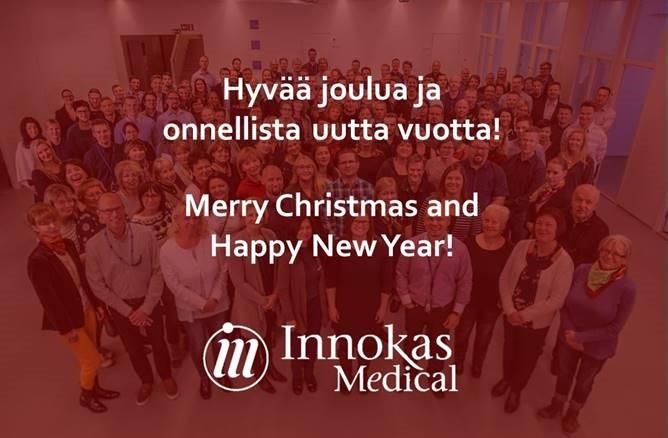 Hyvää joulua - Merry Christmas Innokas Medical
